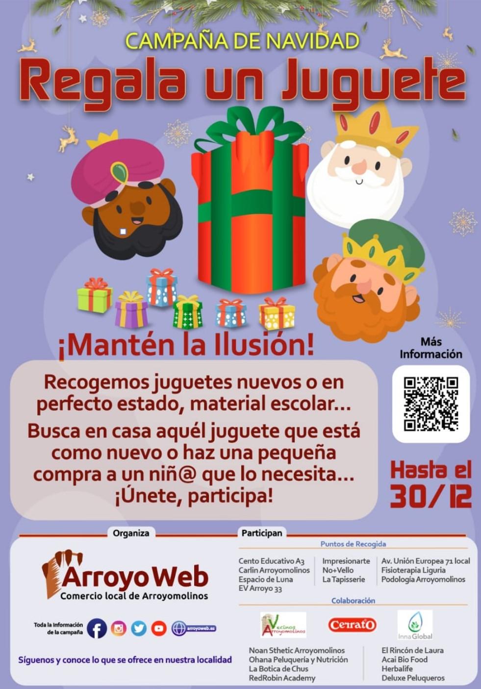 Colaboramos en la campaña solidaria de recogida y desinfección de regalos antes de los Reyes Magos