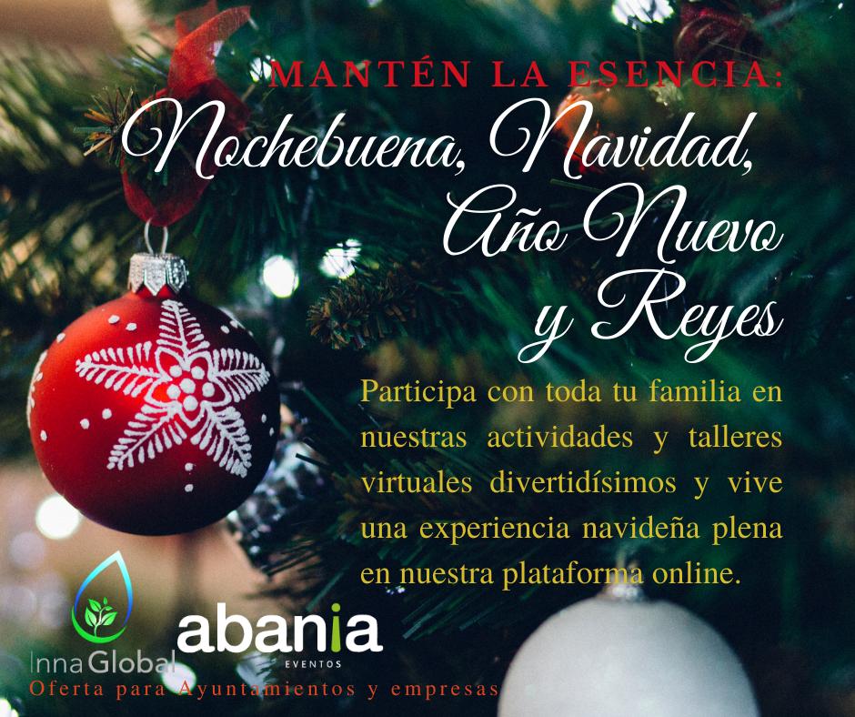 Gamifica tus fiestas navideñas en familia con Inna Global y Abania Eventos