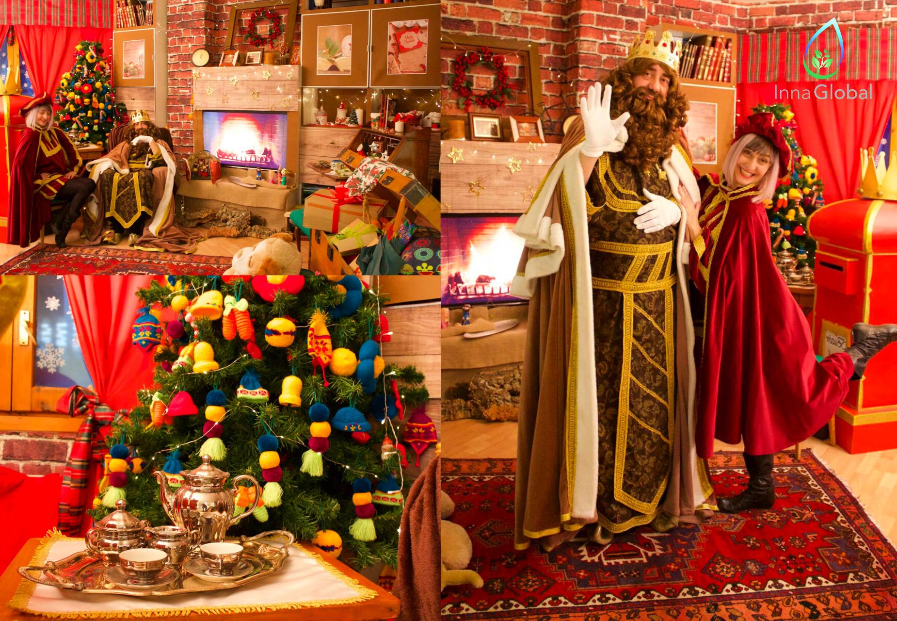 Llevamos a los Reyes Magos, Papá Noel, los elfos y pajes a todos los hogares desde nuestra Casita de Navidad virtual