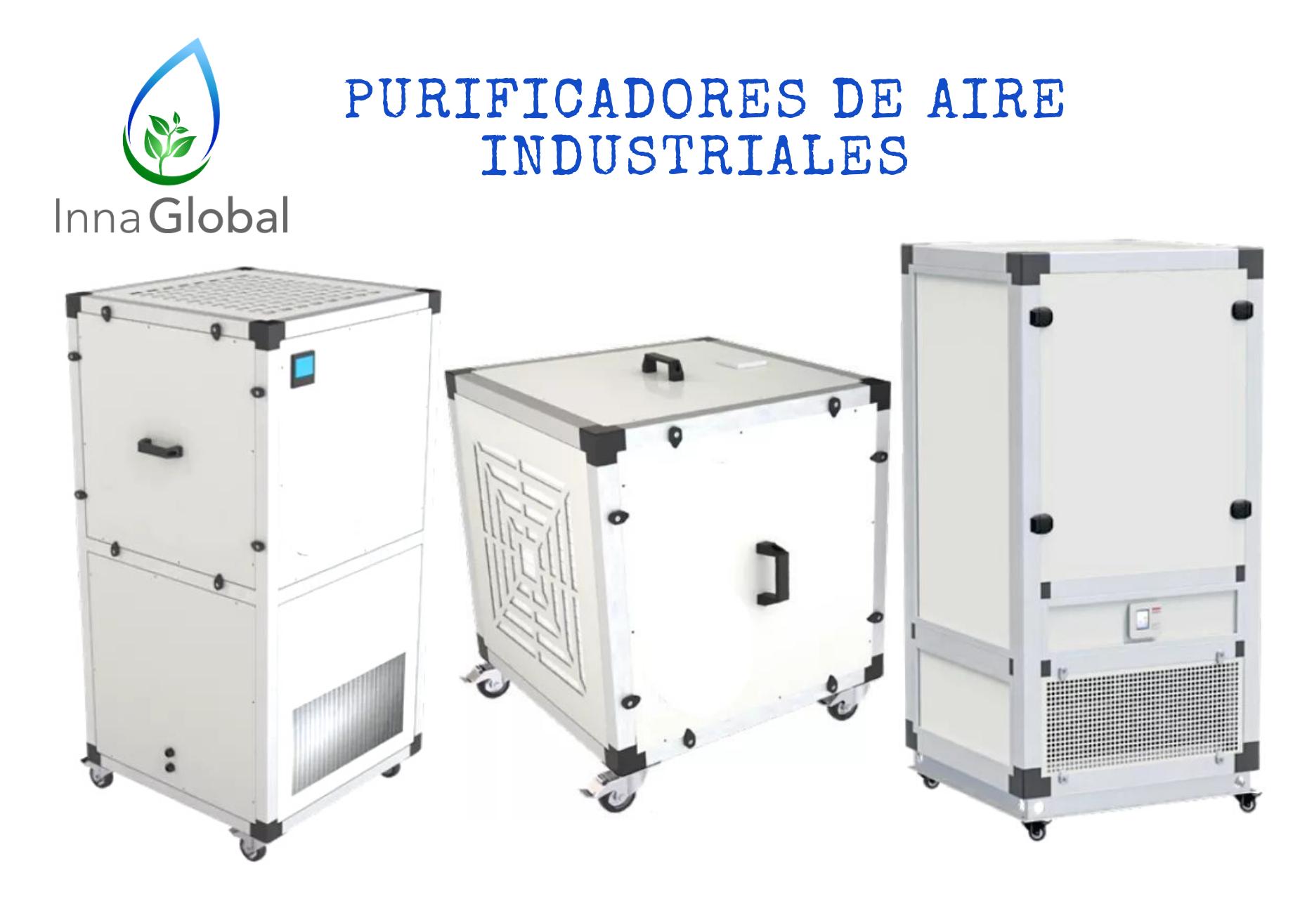 Prevención frente a la Covid-19: purificadores de aire industriales
