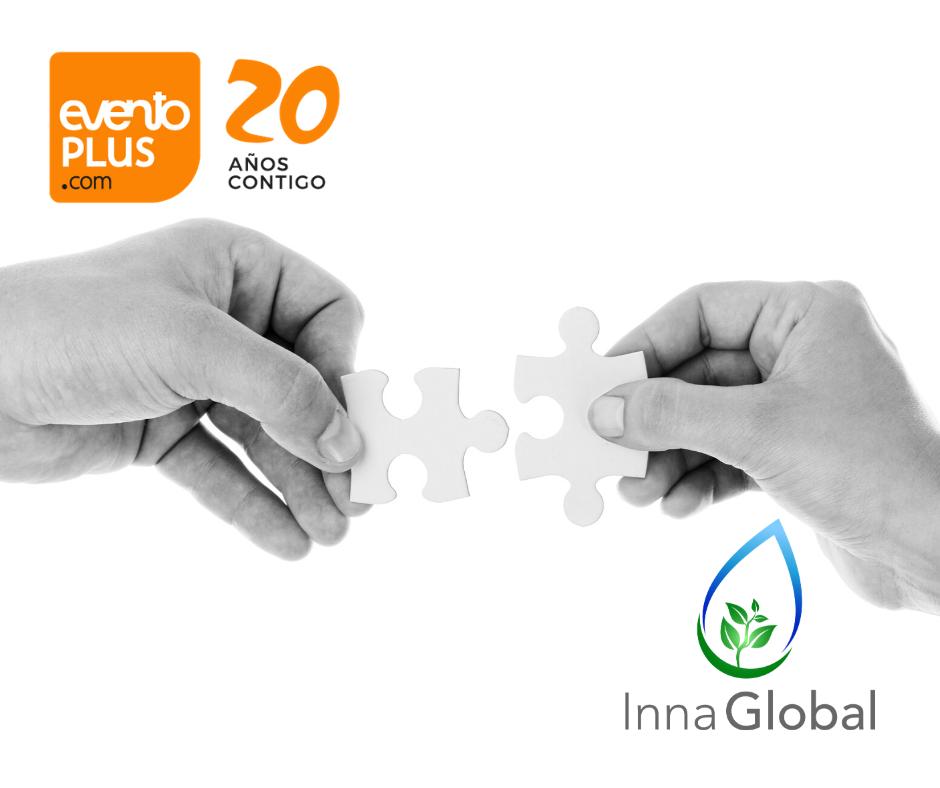 Inna Global SL ya es proveedor de Eventos Sostenibles y Soluciones Covid-19 para Eventoplus